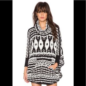 Free People Rosie Lee Poncho Size Medium
